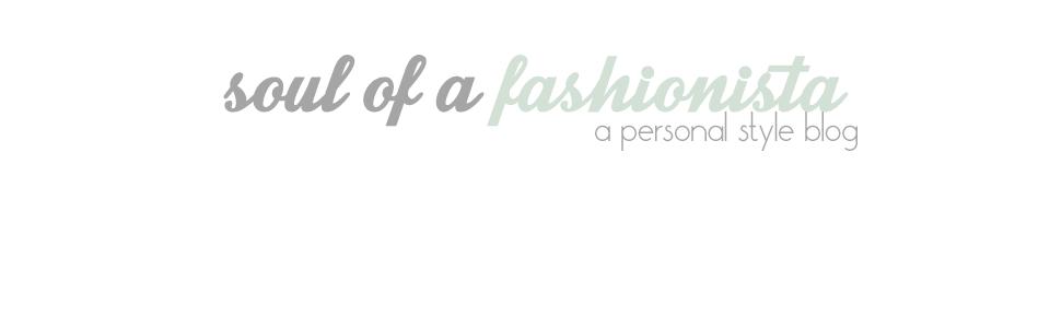 Soul of a fashionista