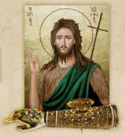 Υποδοχή Ιερού Λειψάνου εκ της χειρός του Τιμίου Προδρόμου, από την Ιερά Μονή Ομπλού