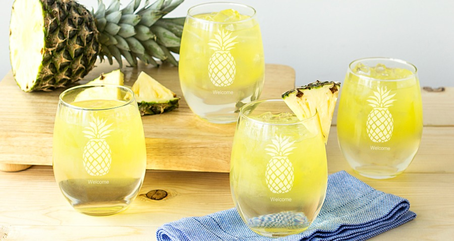 New! Personalized Glassware