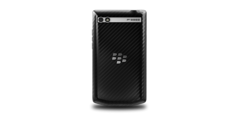 P'9983 Graphite, BlackBerry, smartphone,