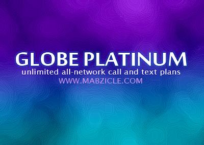 globe platinum
