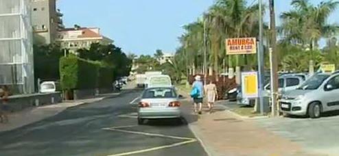 Policía investiga imágenes de cámaras en la zona donde presuntamente fue raptada una menor en  Gran Canaria