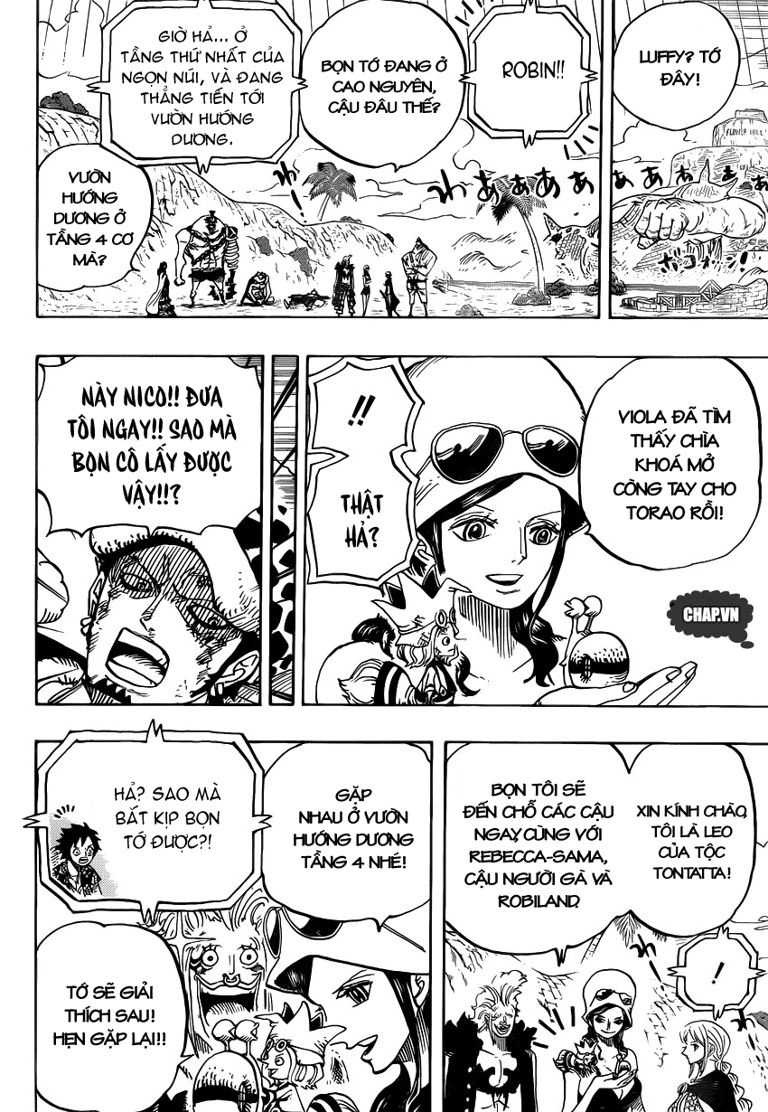 One Piece Chapter 751: Sabo vs. Đô đốc Fujitora 014