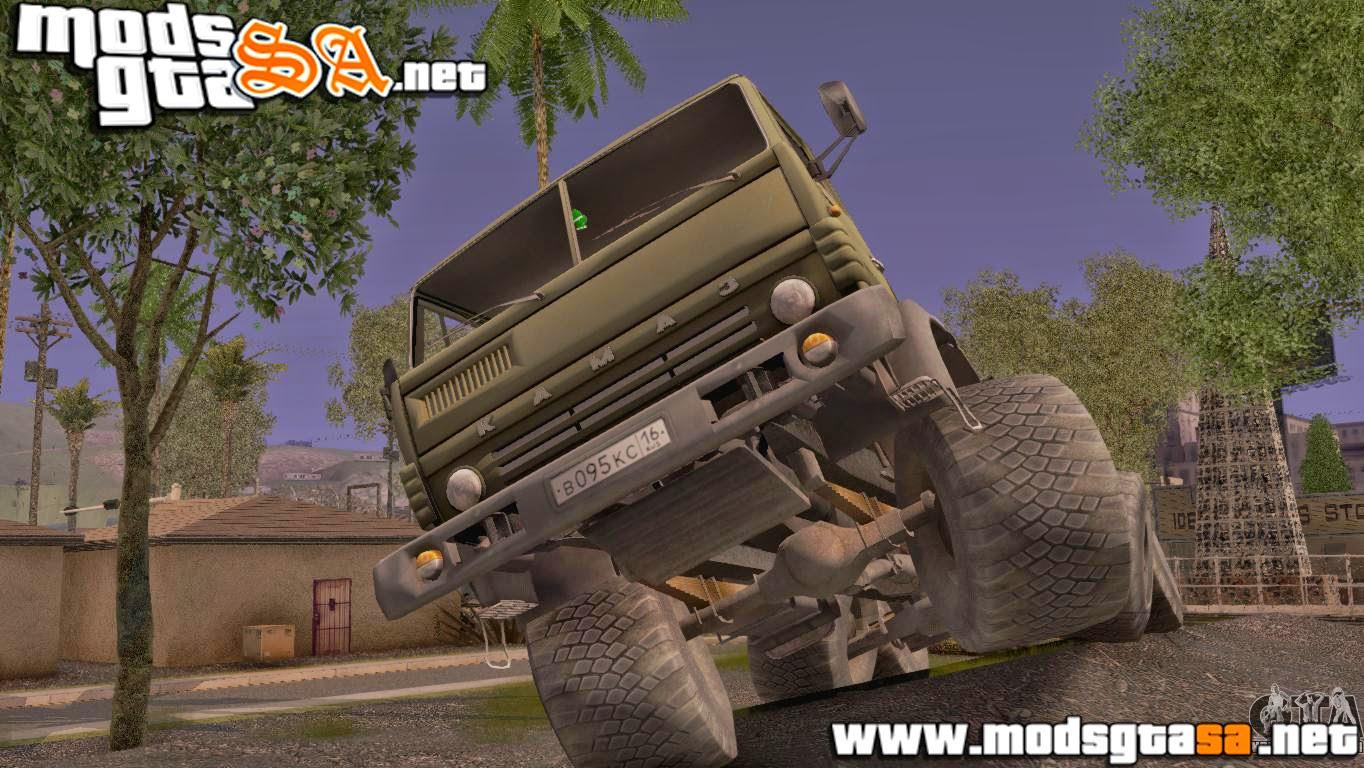 SA - KamAZ 43101