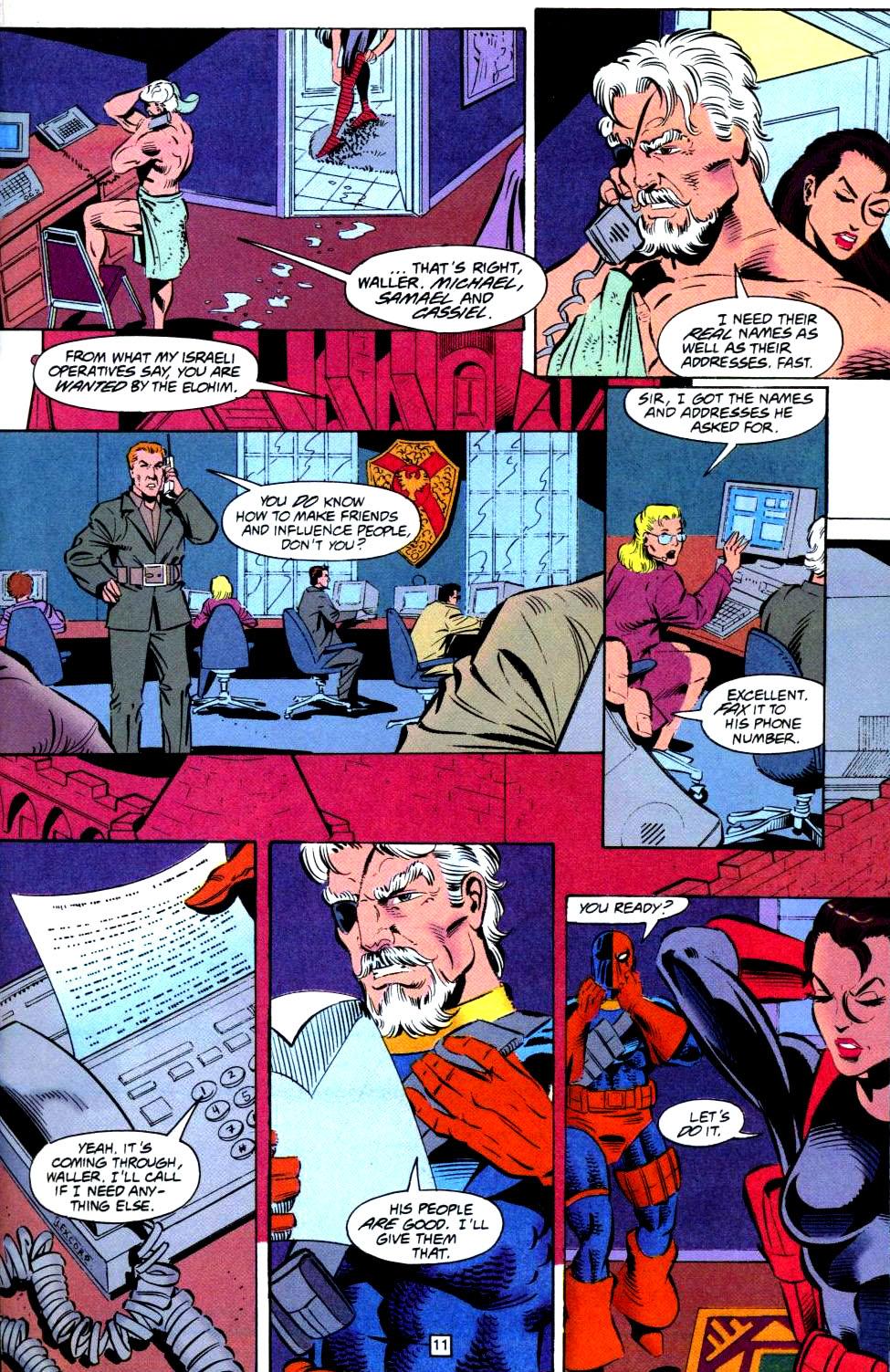 Deathstroke (1991) Issue #38 #43 - English 12