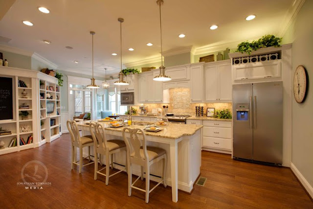 Beachnut lane deciding between sherwin williams Home plans with big kitchens