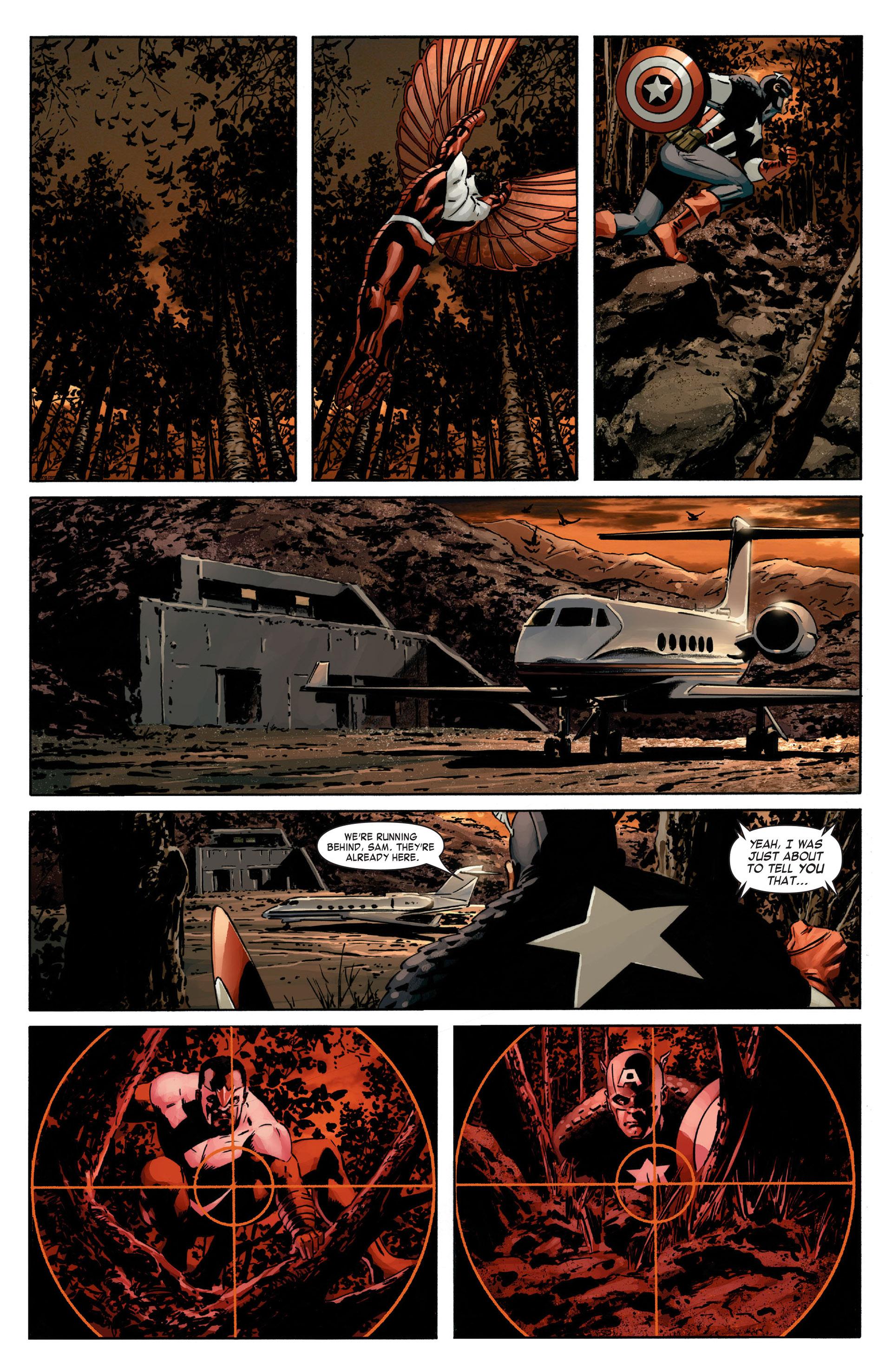Captain America (2005) Issue #13 #13 - English 22