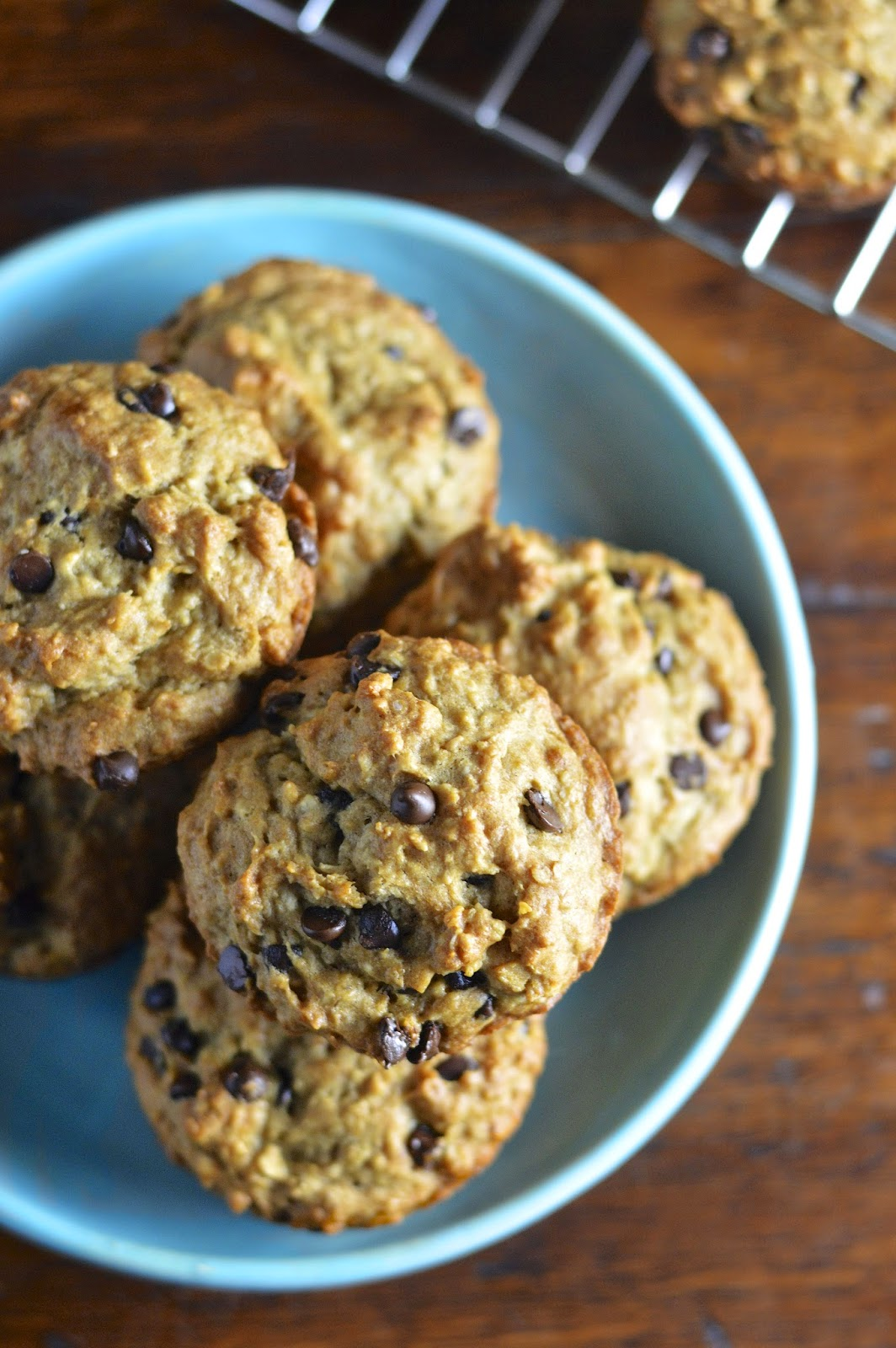Gluten Free Oatmeal Chocolate Chip Muffins   Virtually Homemade ...