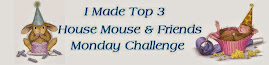 House Mouse challenge blog