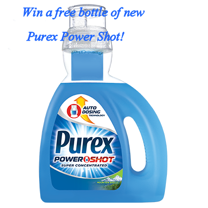 Purex Power Shot Giveaway