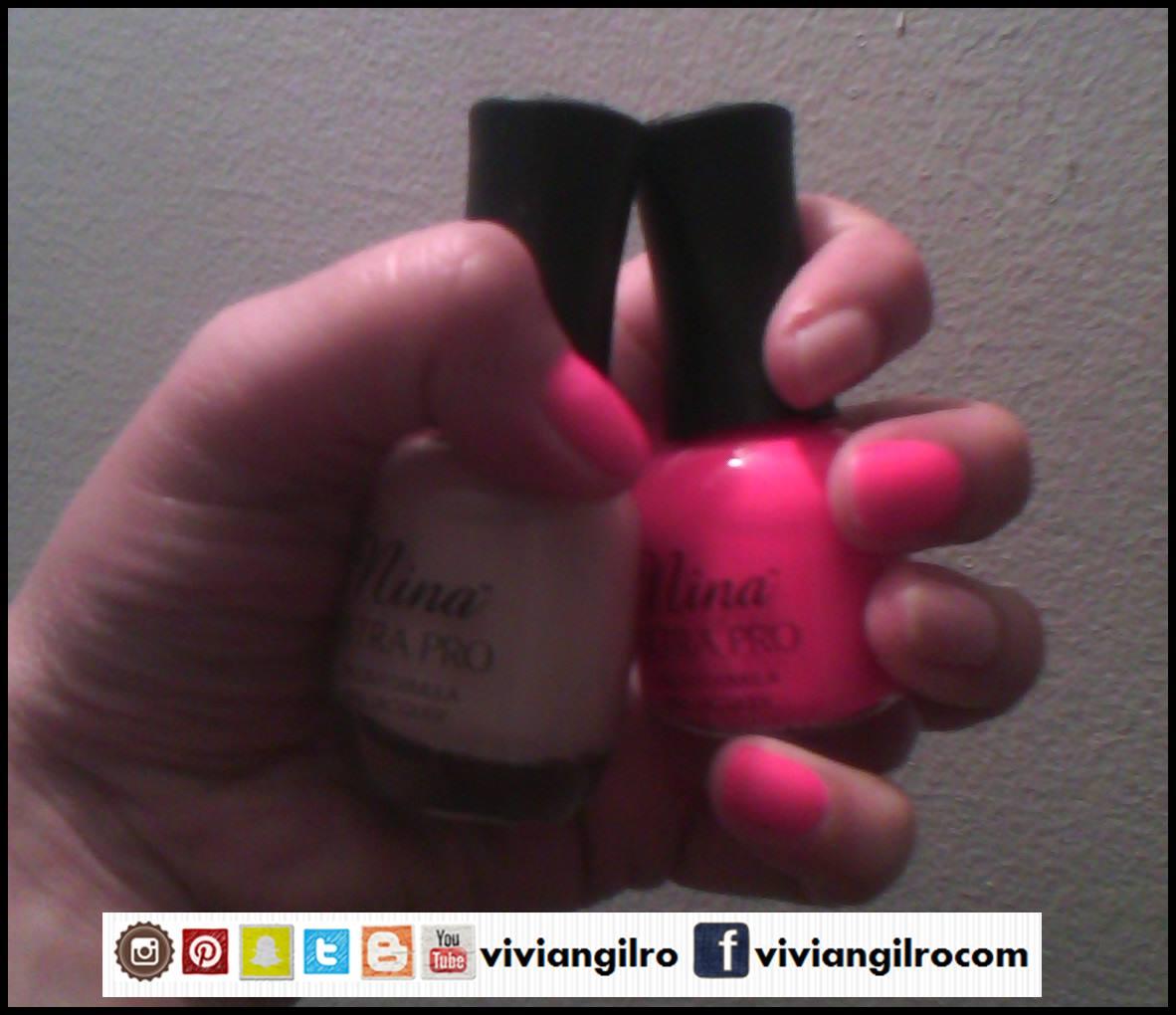 Comparando esmaltes de Nina ~ Viviangilro