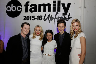 Emma Ishta and Kyle Harris ABC Family Upfront