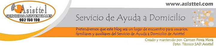 Servicio de Ayuda a Domicilio (ASISTTEL)