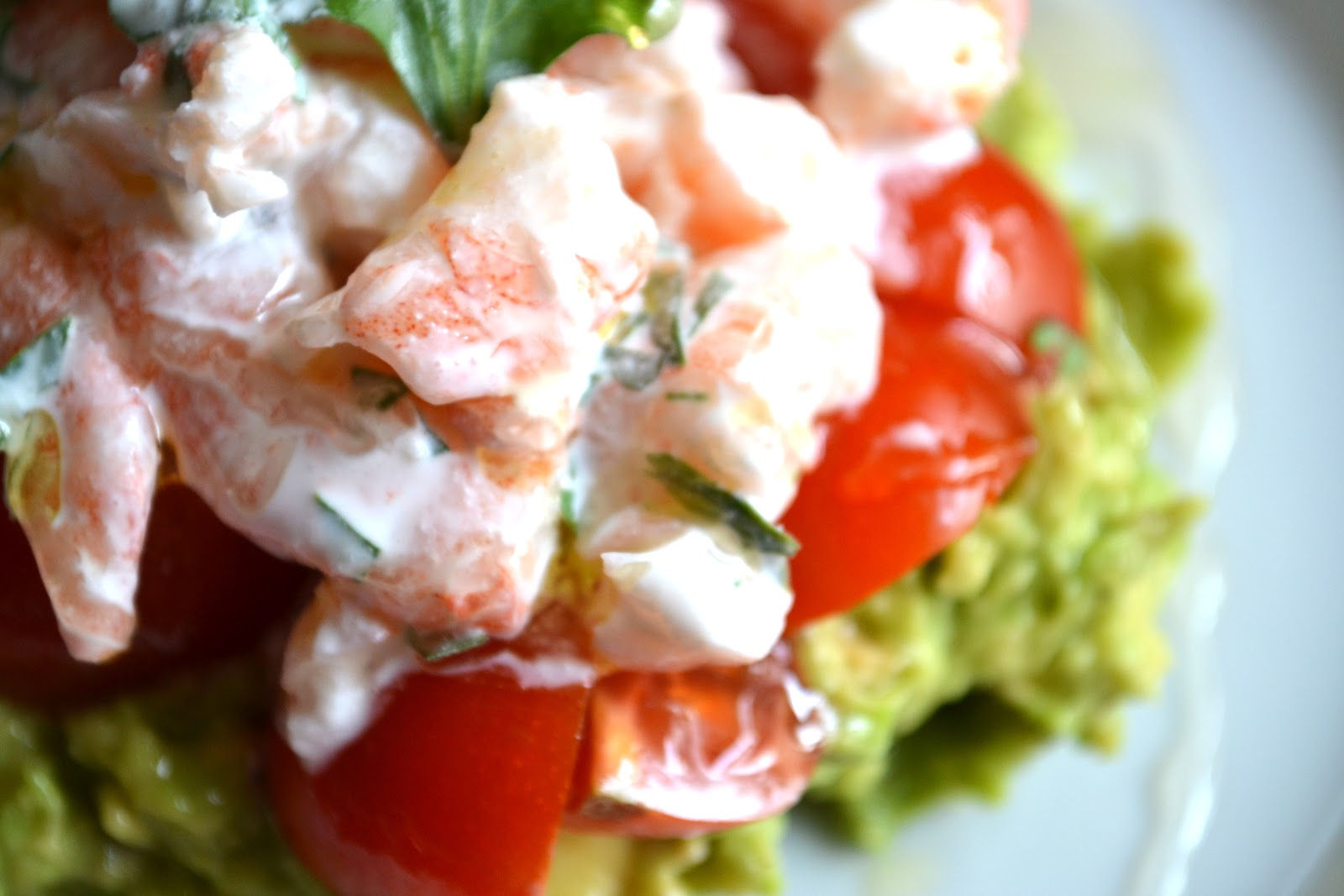 Light And Fresh Avocado Cream Verrines Recipe — Dishmaps