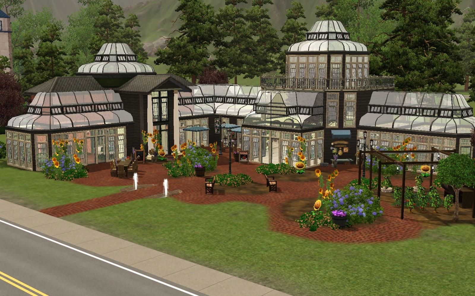 AznSensei\'s Sims 3 Store Blog: Stones Throw Greenhouse Venue Review