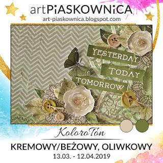 Artpiaskownica_juego de colores_oliva, crema y beige_pequeña cantidad de blanco, gris y/o negro