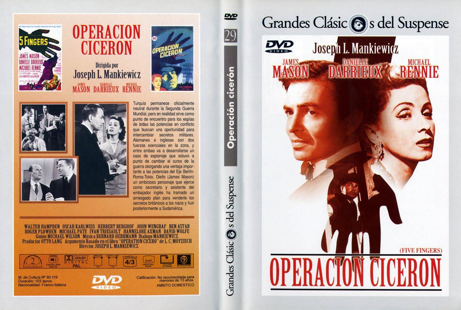 Operación Cicerón ( 1952 ) Castellano DescargaCineClasico.Net