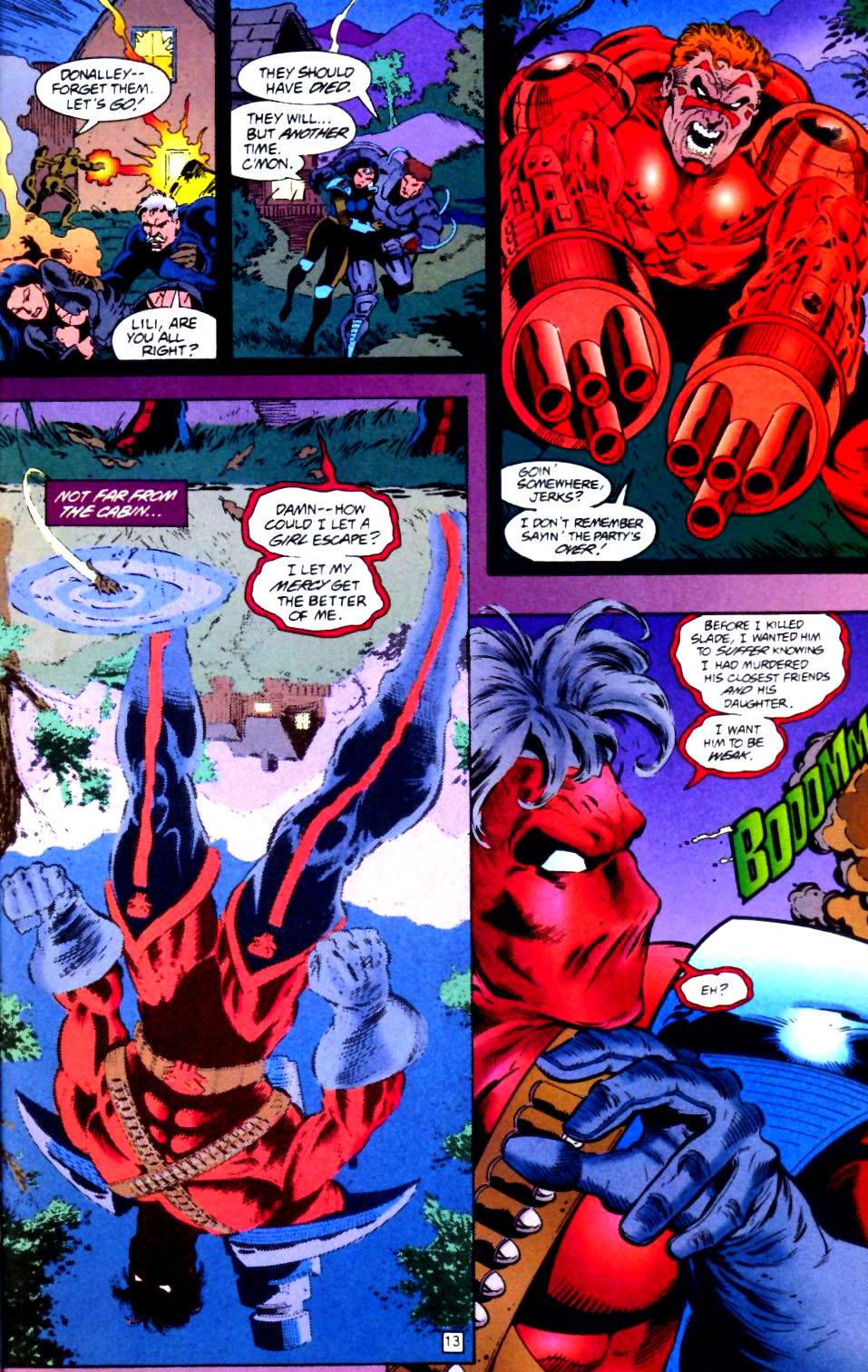 Deathstroke (1991) Issue #44 #49 - English 14