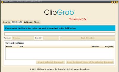 Clip Grab , Nisan