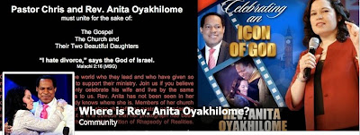 Between Pastor Chris Oyakhilome and His Wife Anita Before She Filed For Divorce