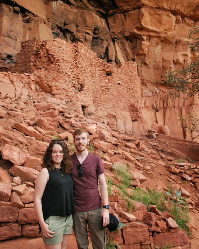 Ancient Honanki Cliff Dwellings in Sedona, Arizona | Em, Then Now When