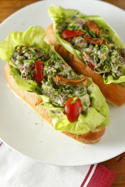 Vegetarian Lobster Rolls