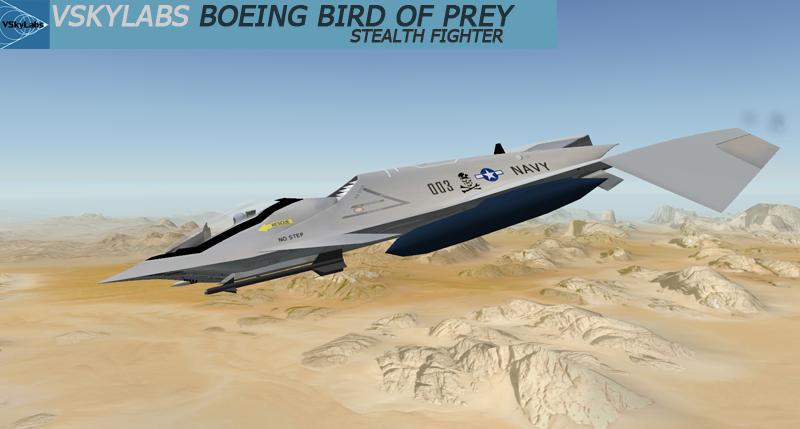 VSKYLABS Boeing 'Bird of Prey'
