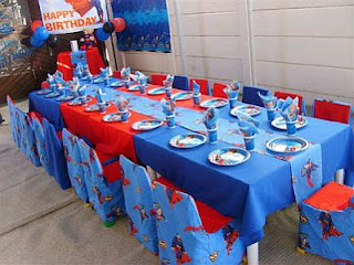 Fiestas Infantiles, Decoracion Superman, Salones