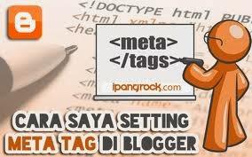 Memasang Meta Tag Pada Blogspot