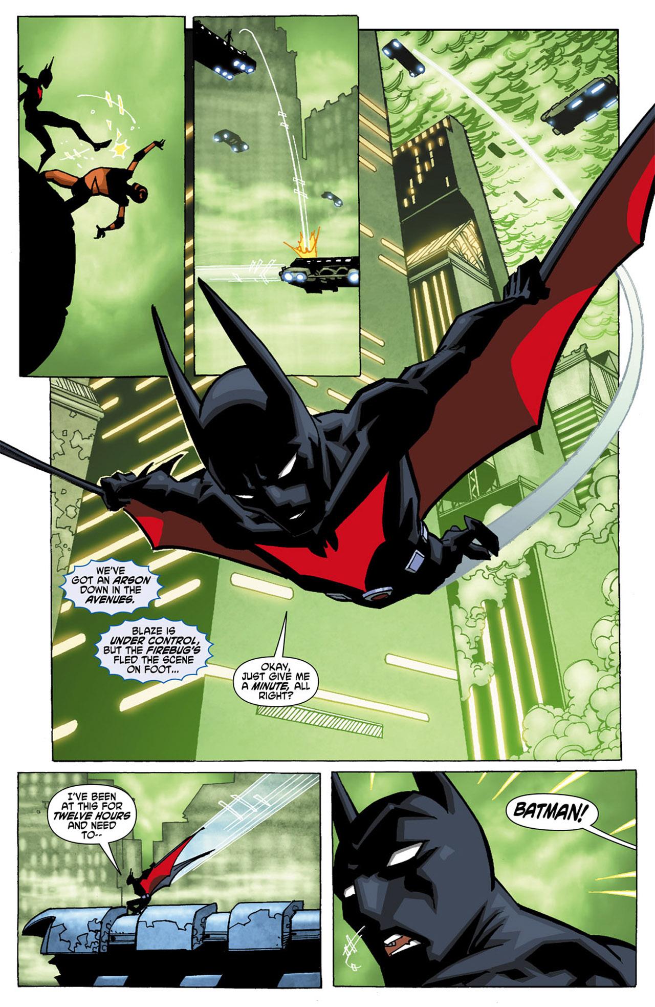 Batman Beyond (2010) Issue #1 #1 - English 10