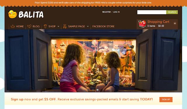 Balita E-Commerce WordPress Theme