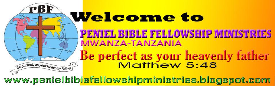 PENIEL BIBLE FELLOWSHIP CHURCH