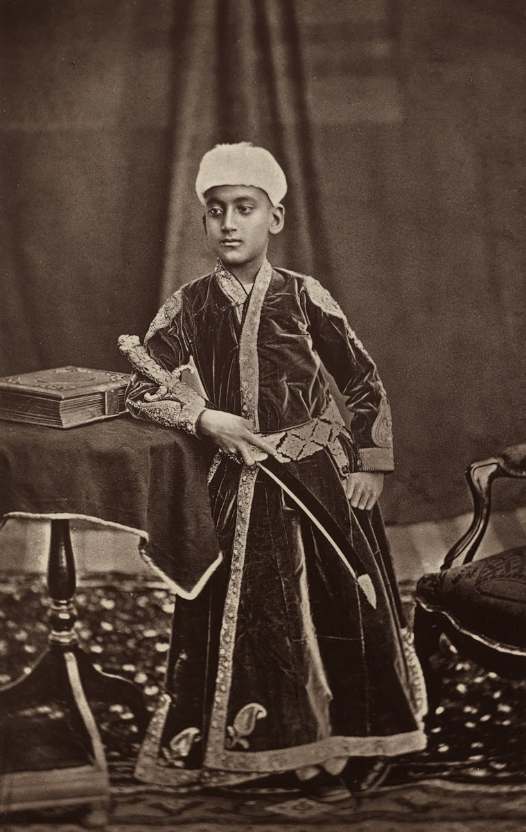9th Nizam of Hyderabad Mahbub Ali Khan, Asaf Jah VI - 1877