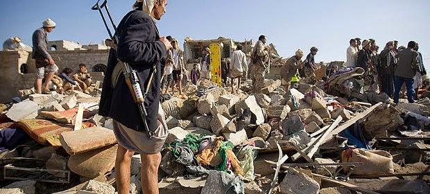 27 maut serangan udara di Sanaa