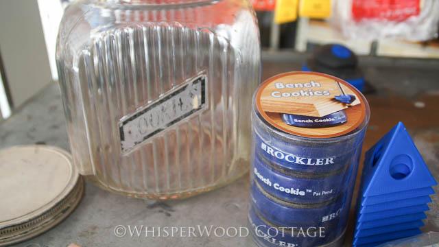 Whisperwood Cottage Vintage Cookie Jar For My Rockler Bench Cookies