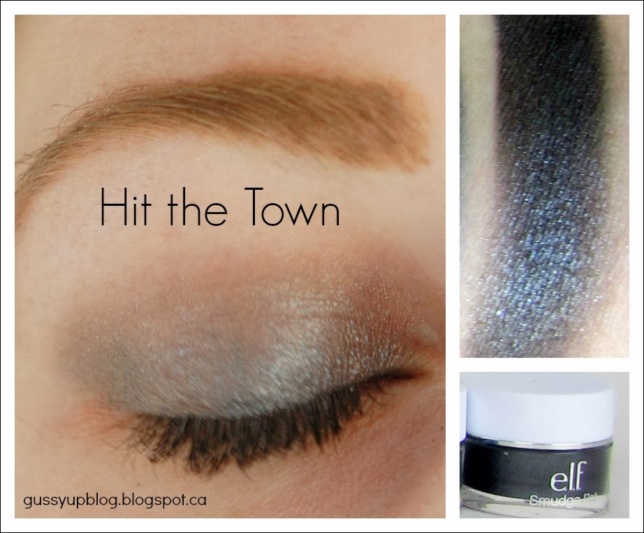 e.l.f. Essential Smudge Pots, Hit the Town, Review and Swatches