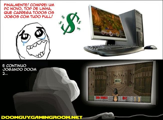 Novo PC E O Velho Doom