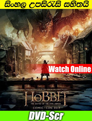The Hobbit The Battle of the Five Armies 2014 Watch Online With sinhala Subtitle