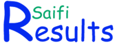 Results Saifi -  Results 2014 Answer Key Jobs