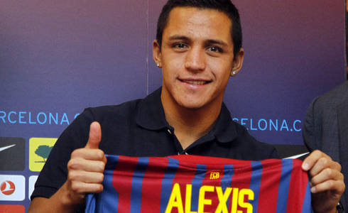 Alexis Sanchez: Welcome to FC Barcelona!!! >> Photo Gallery and Video