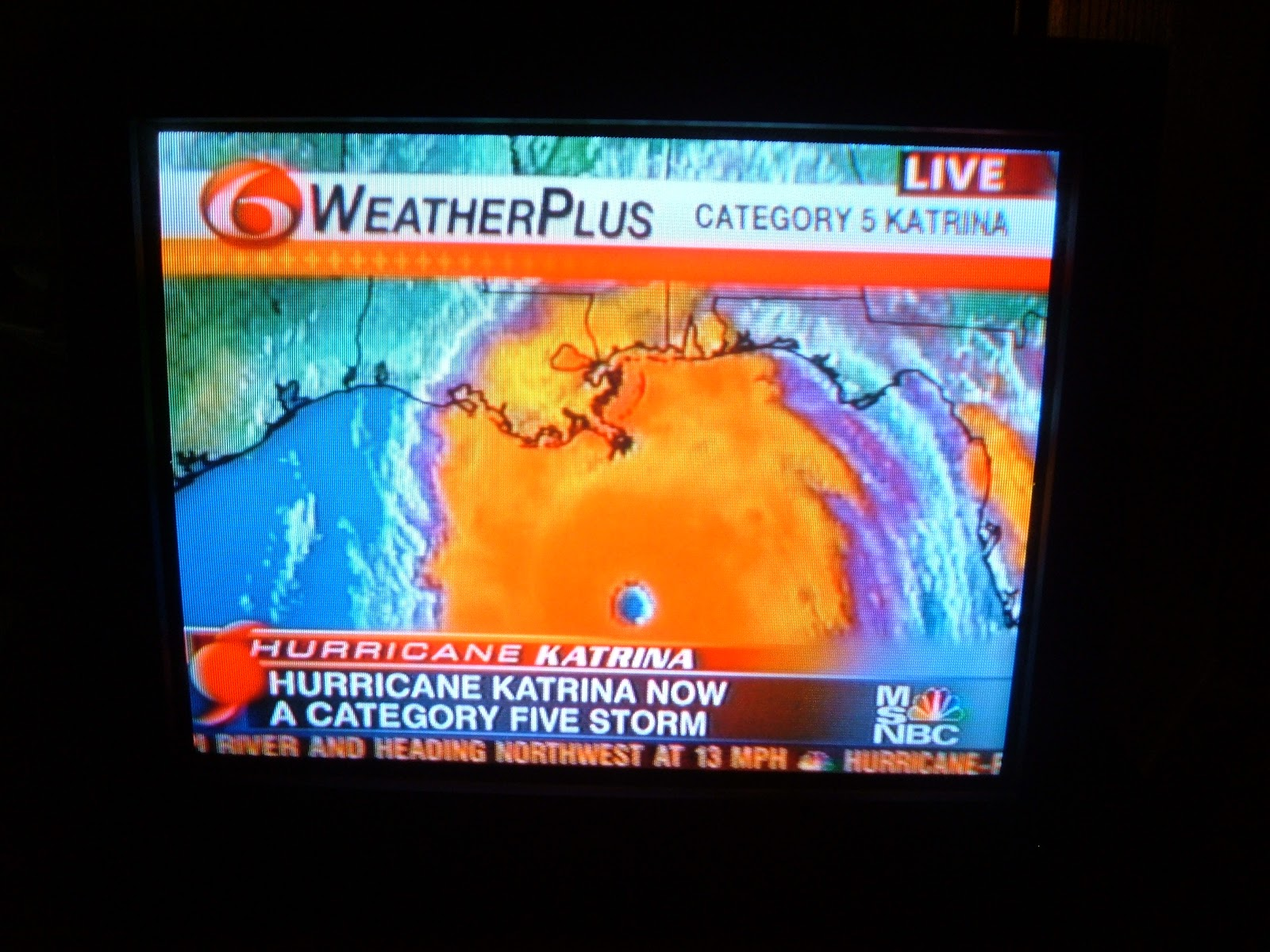 weather channel hurricane new orleans