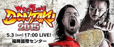 NJPW Wrestling Dontaku 2015