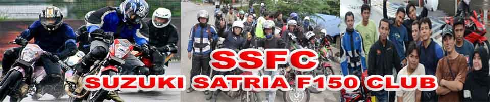 "SSFC DEPOK "" SUZUKI SATRIA F150 CLUB """