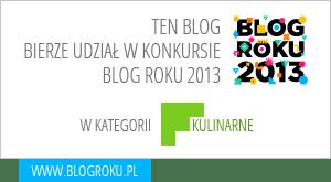 Buena Appetita bierze udzial w glosowaniu na Blog Roku 2013
