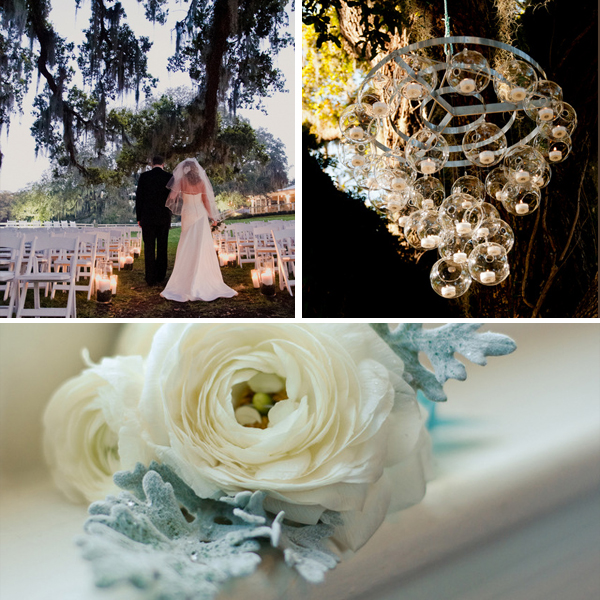 blue southern DIY wedding by LH Photography