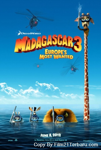 Madagascar 3: Europe's Most Wanted 2012 di Bioskop