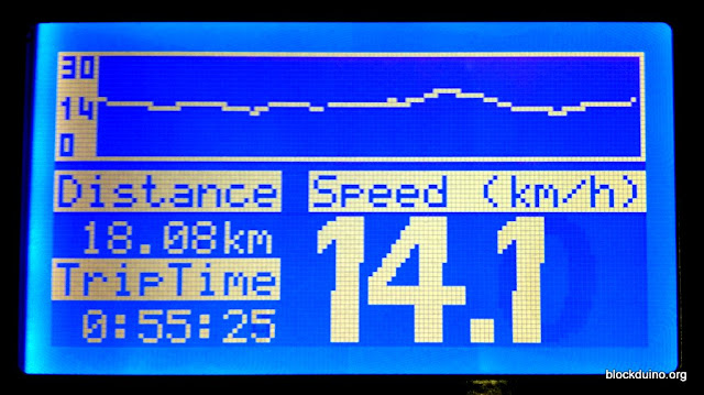 Speedometer/odometer on arduino with GLCD 12864 and openGLCD lib