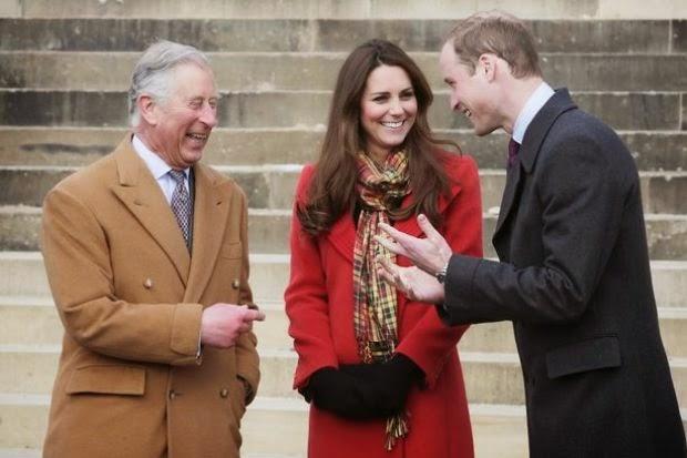 Putera Charles Harap Anak Kedua William Kate Perempuan
