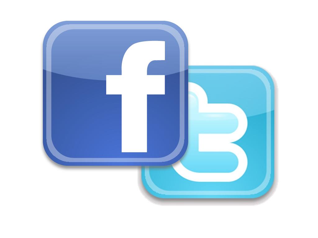 Siguenos en faceboook y twitter