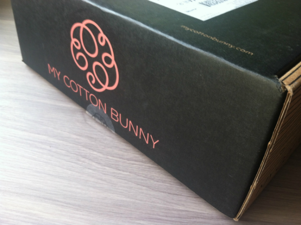 My Cotton Bunny - November 2012 Review - Monthly Women's Subscription Boxes